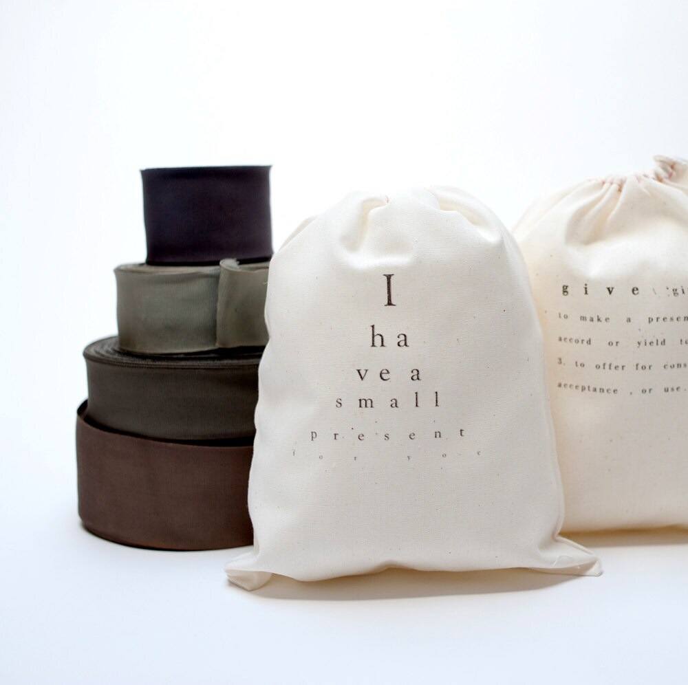 2 cotton bags with text - pilosale