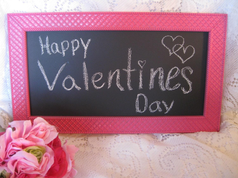 Pink Vintage Valentines Frame