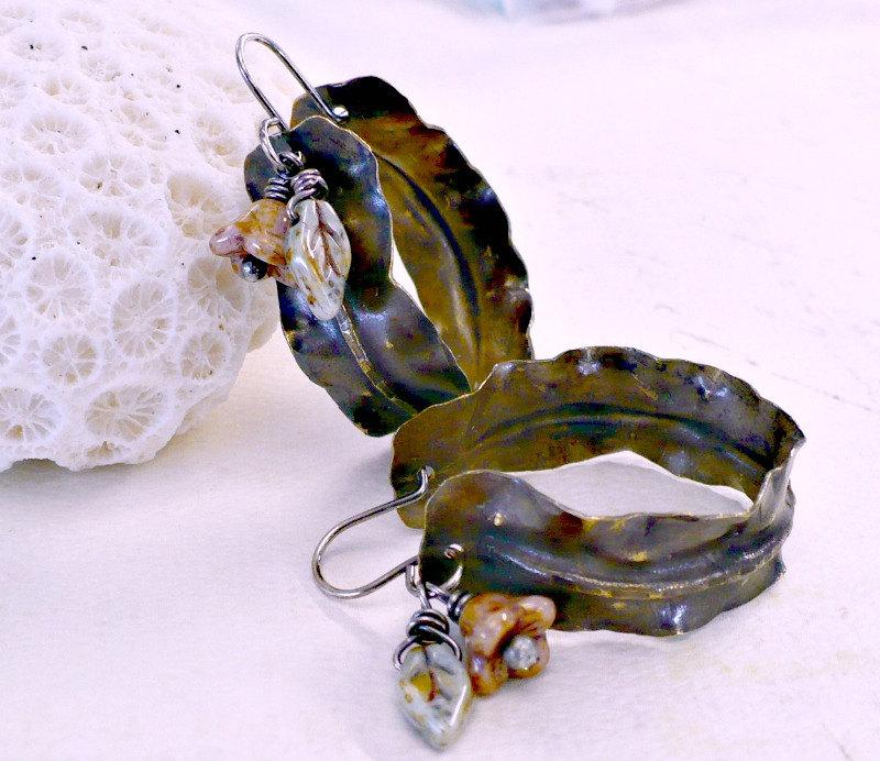 handmade art earrings by Melissa Meman