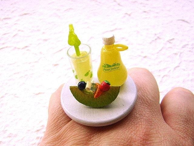 Груша кольцо Дынный сок