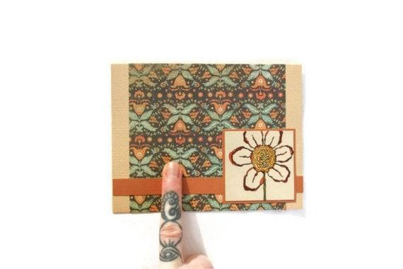 30% Set of 4 Blank Cards: GEOMETRY meets ORGANIC - JerseysFreshest