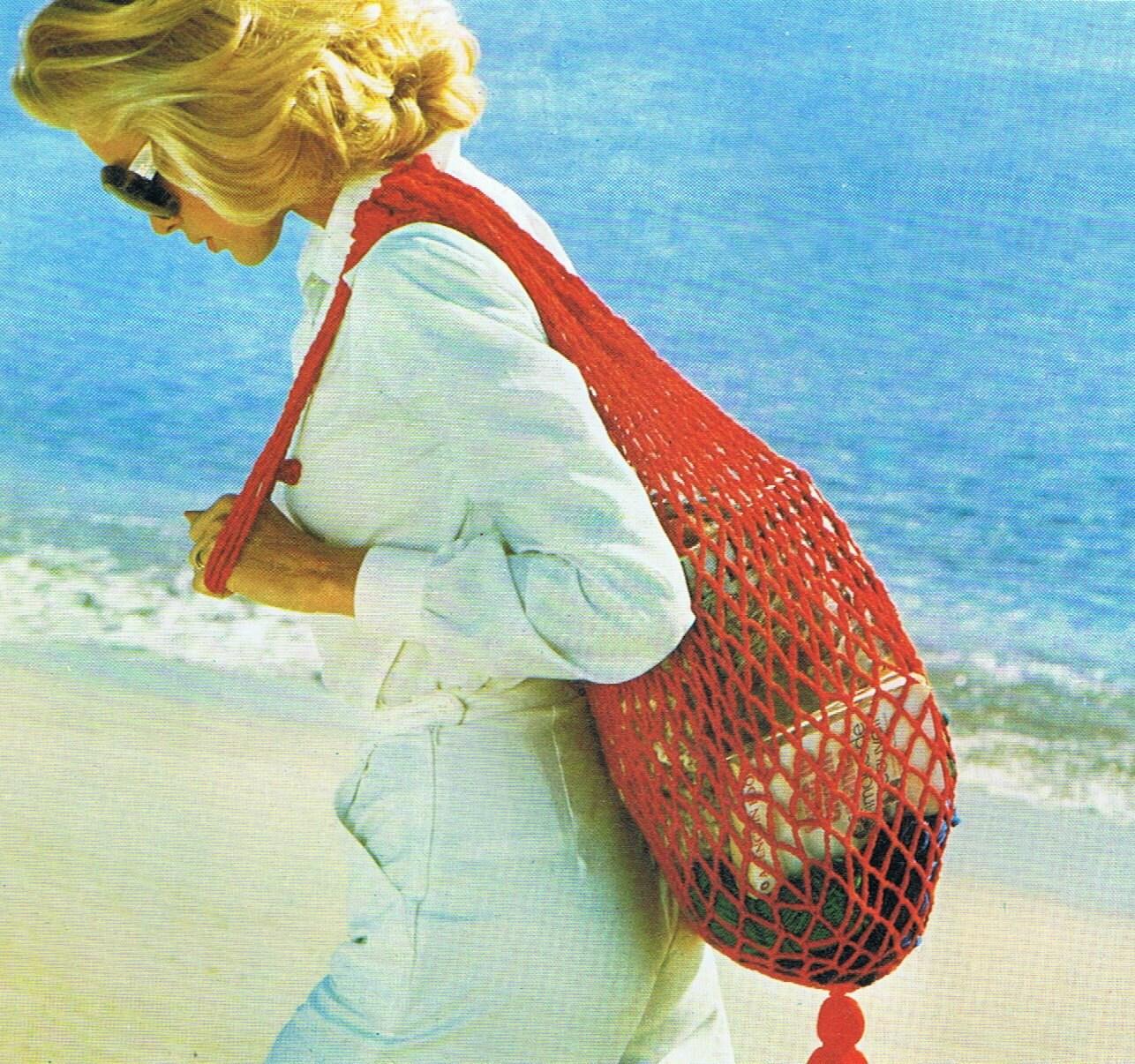 CROCHET BEACH BAG PATTERN Crochet Patterns