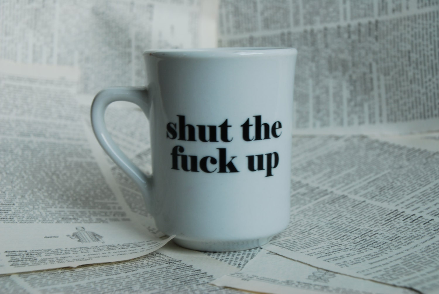 MATURE Rego Shut The Fuck Up Mature Teacup/Mug