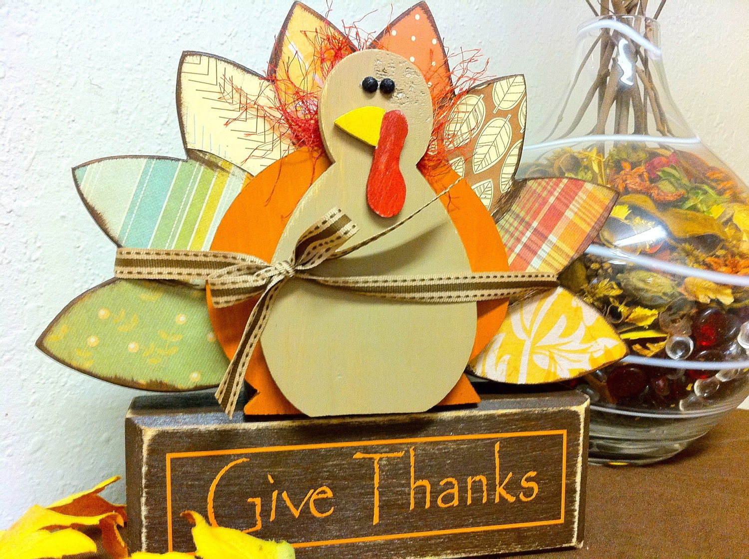 Seasonal Give Thanks Turkey Set