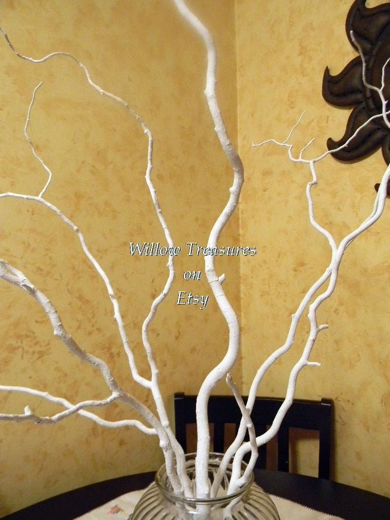 Curly Willow Branches Painted (5) Wishing Tree, Blessing Tree, Custom Order - Treasury