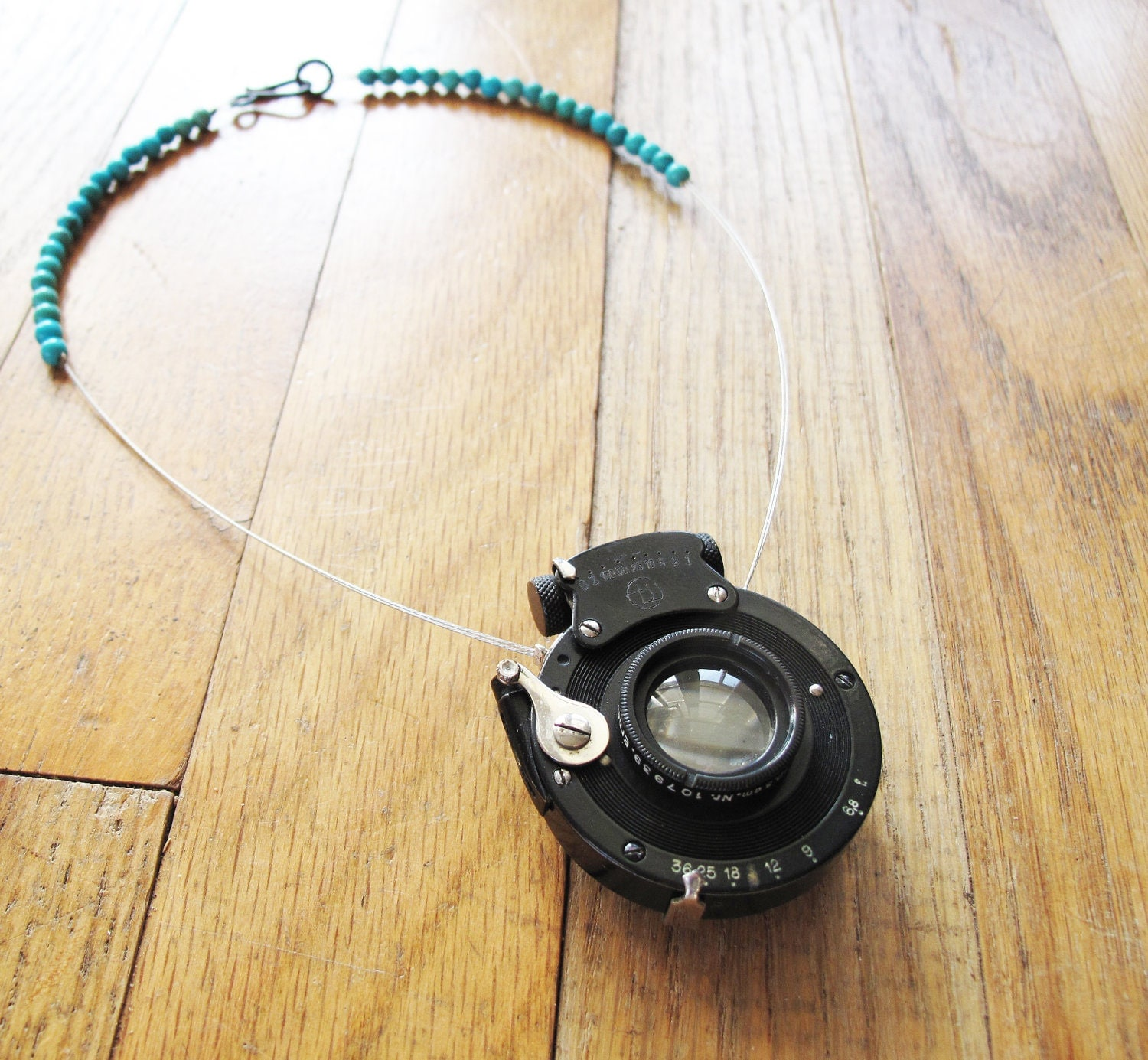 Antique Camera Lens Necklace