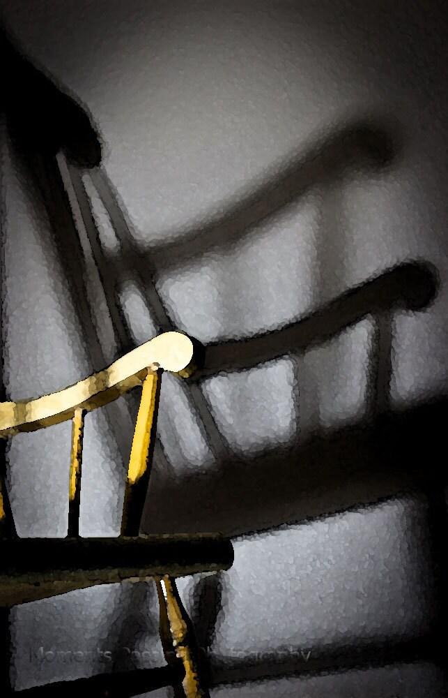 8x10 Fine Art Print: Shadow of a Chair