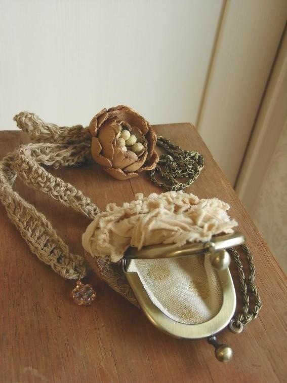 мини ожерелье кошелек - Хида
