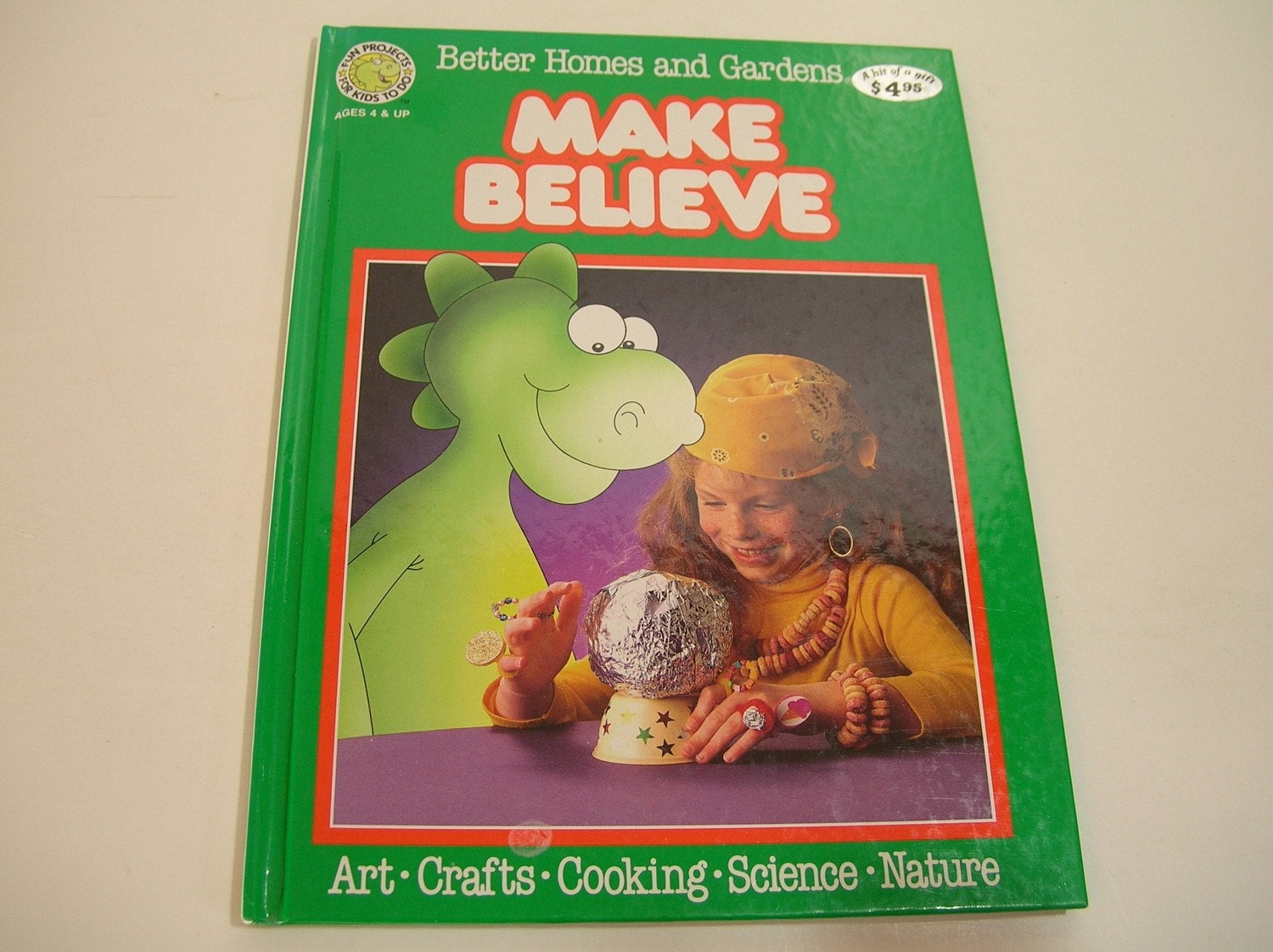 Children's Craft Book, Make Believe, Better Homes And Gardens