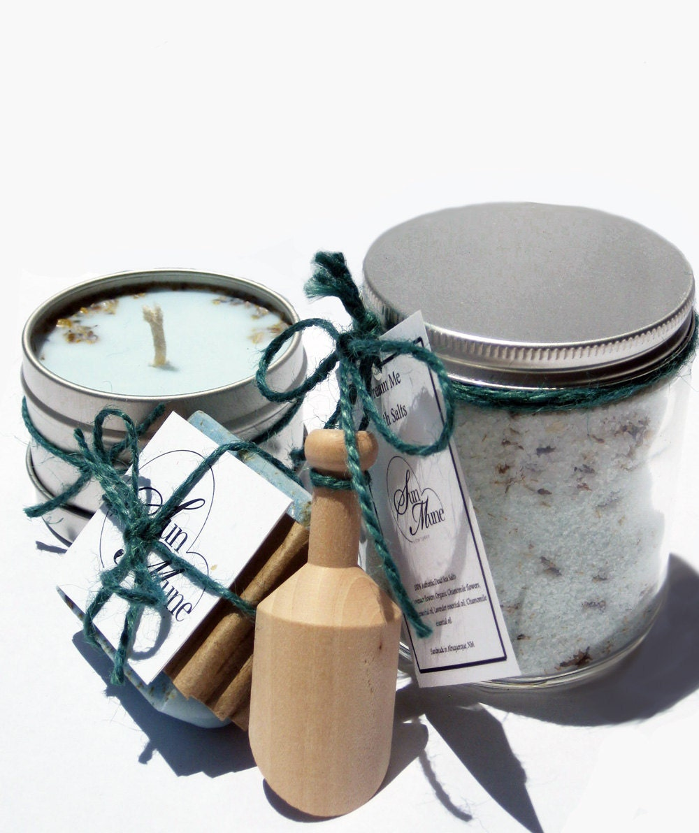 Dream Me Bath Set- For Dream Divination and Restful Sleep.