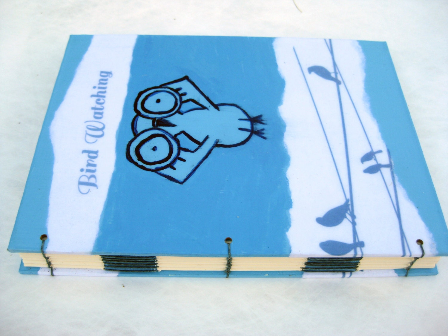 Birdwatching Blank Journal - mylocalmuse