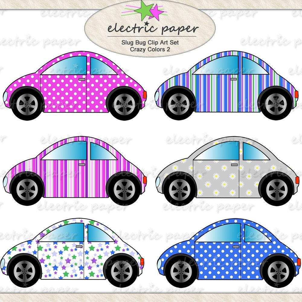 Slug Bug Cars - Crazy Colors Set 2