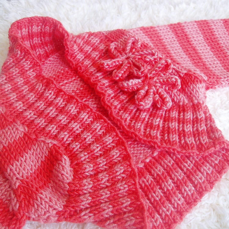 Hand Knitted Baby Bolero