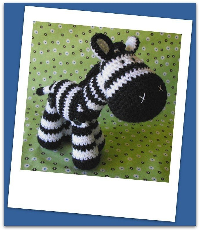 Zeb - amigurumi crochet pdf pattern
