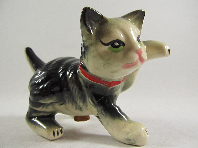 Vintage Kitty Cat Pepper Shaker - ShopDogwoodVintage