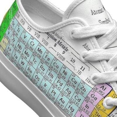 periodic table keds shoes