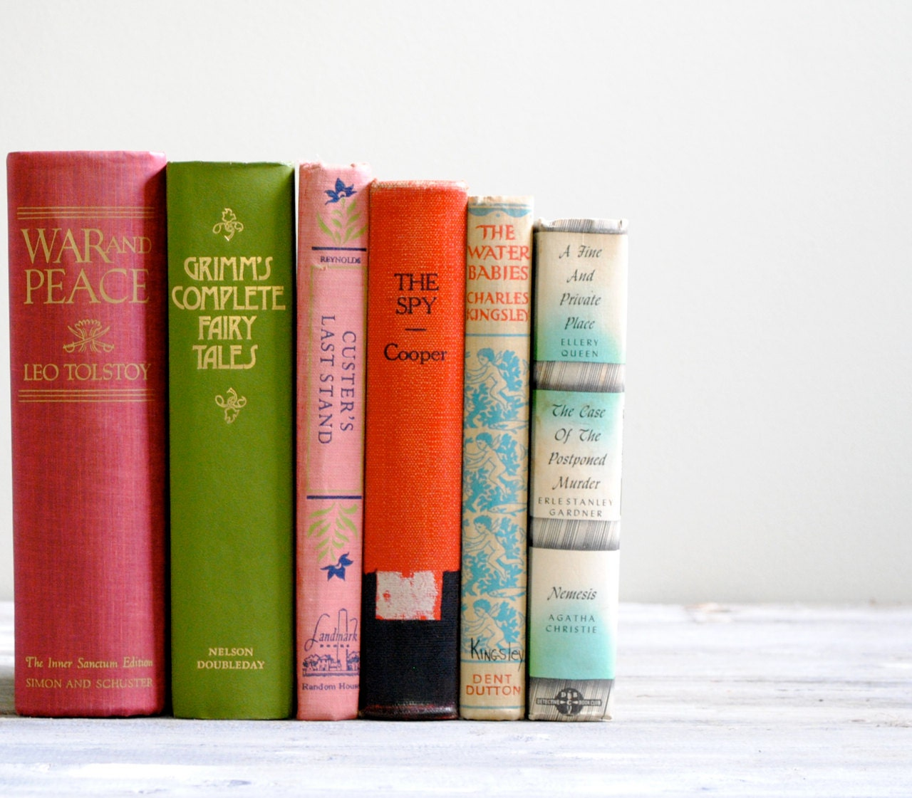 Vintage Classic Literature Book Set - LittleDogVintage