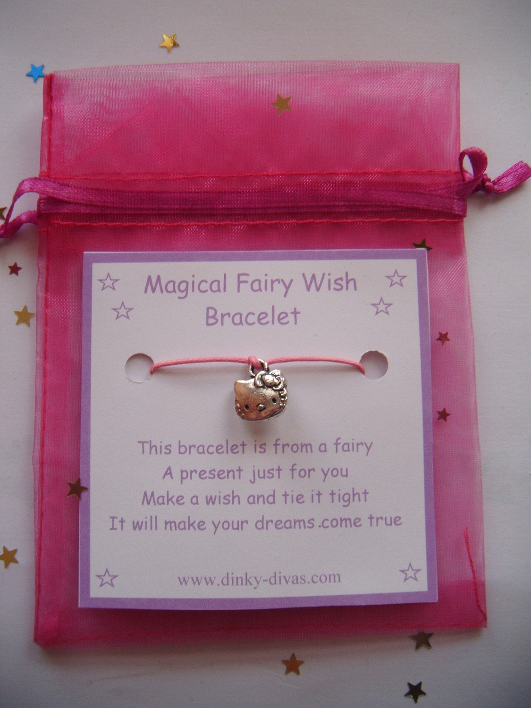 Magical Fairy Wish Bracelet HELLO KITTY Charm