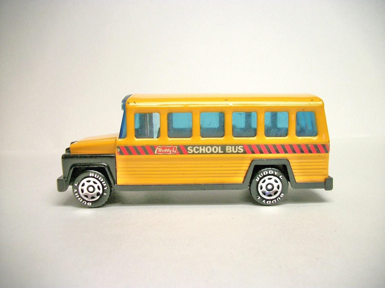 Vintage 1980 Buddy L School Bus - ToysNwhatNot