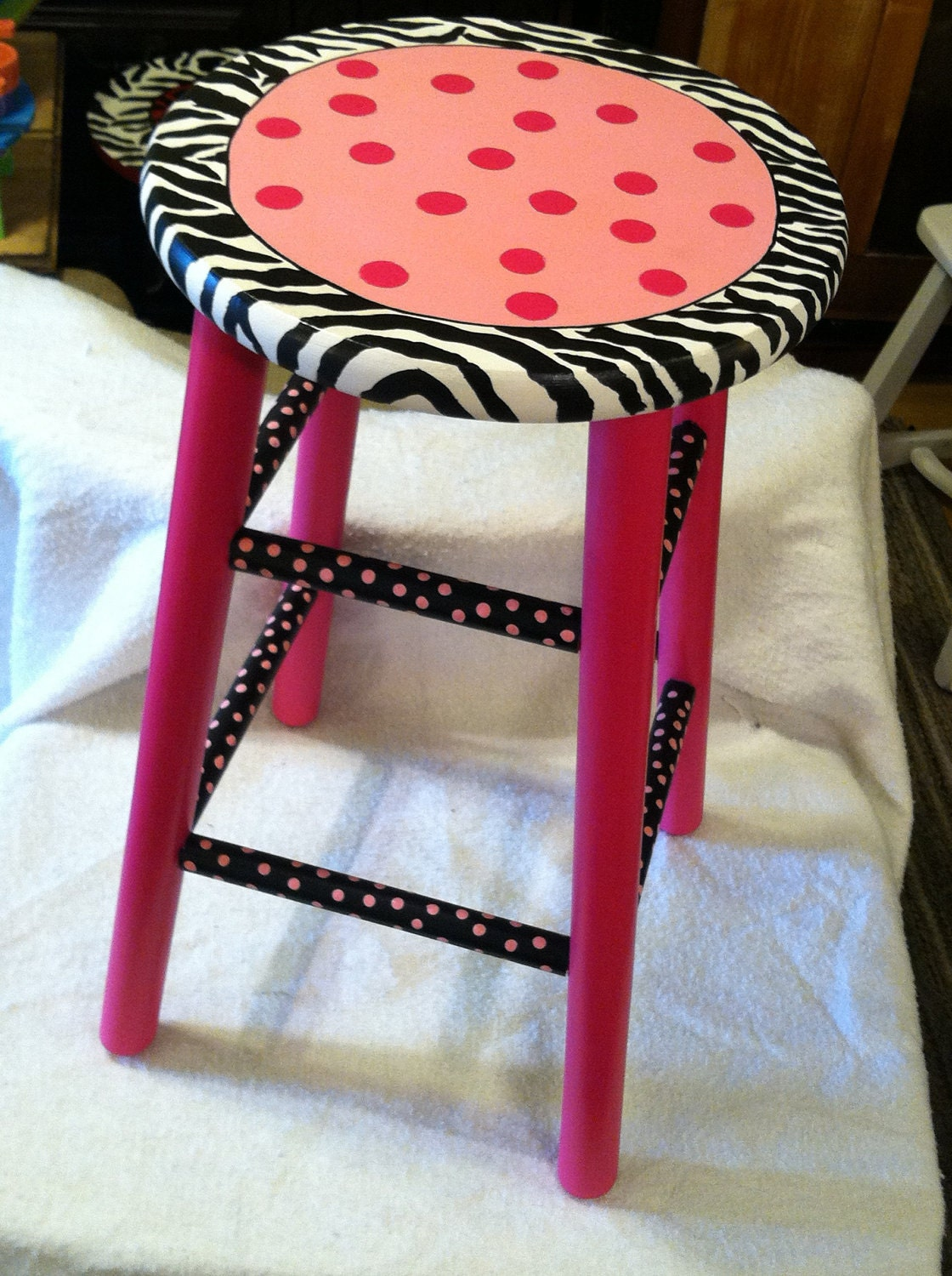 Bar Stools On Pinterest Painted Stools Stools And