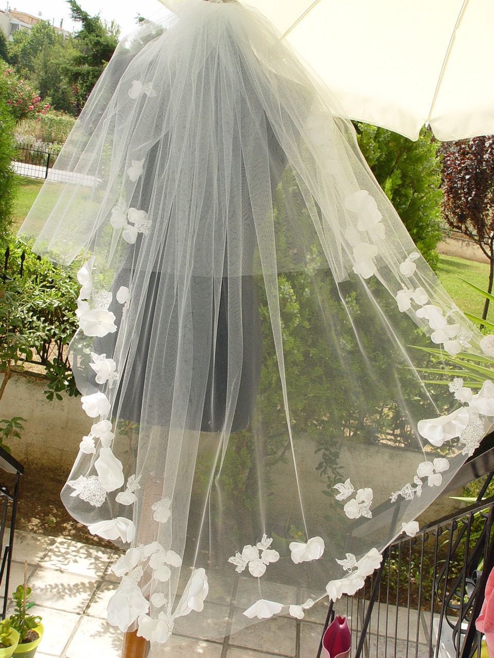 Melissa Sweet Arabella Veil Reproduction