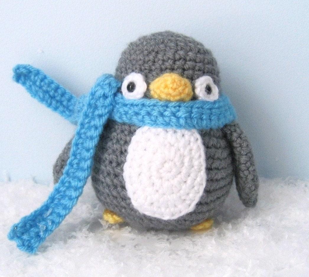 Amigurumi Crochet Penguin Pattern PDF