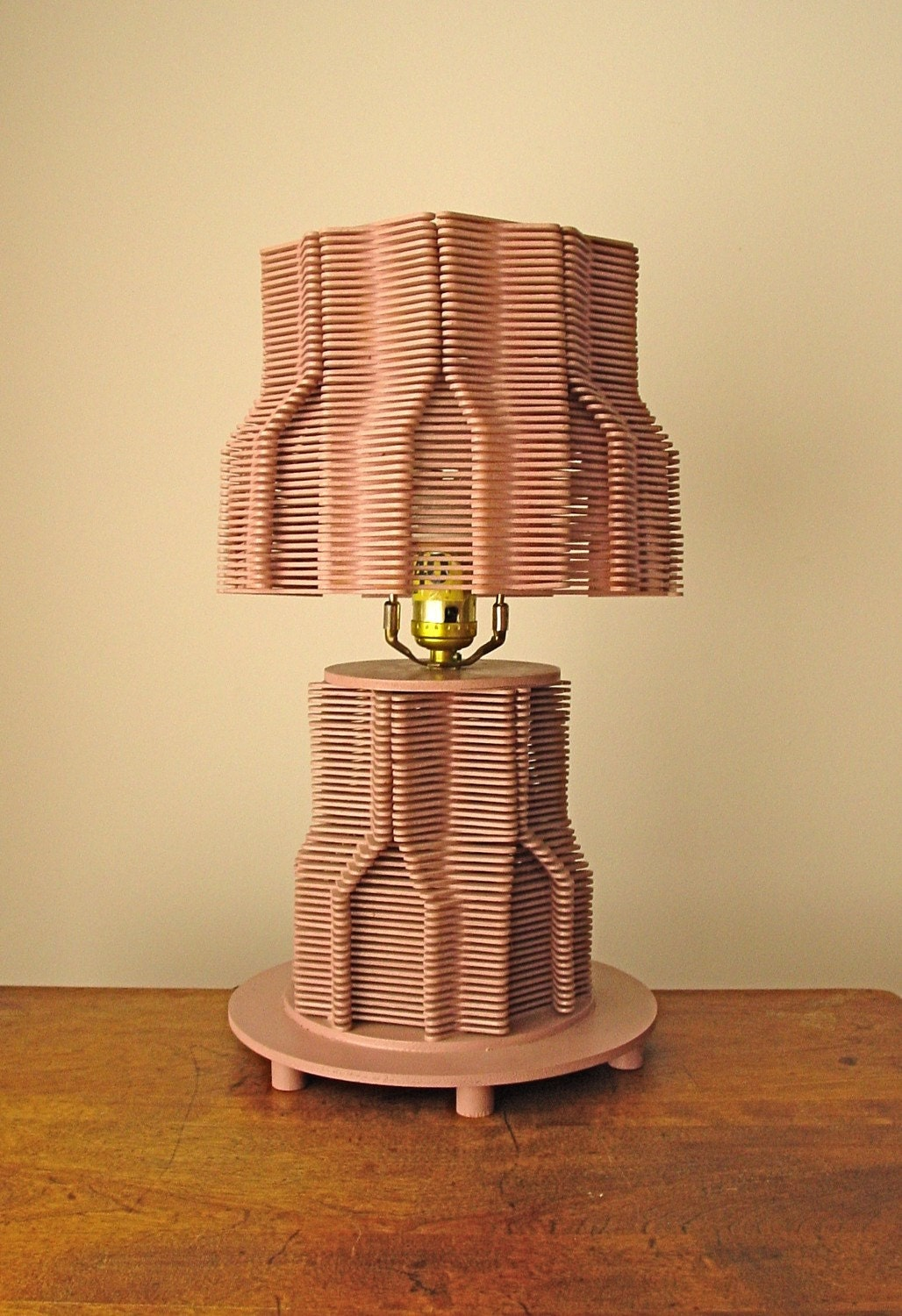 Ice Cream Stick Lamp Shade Popsicle Stick Lamp Shade