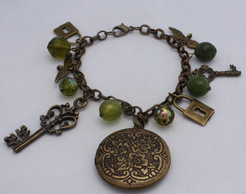 Unlock my Soul Locket Bracelet