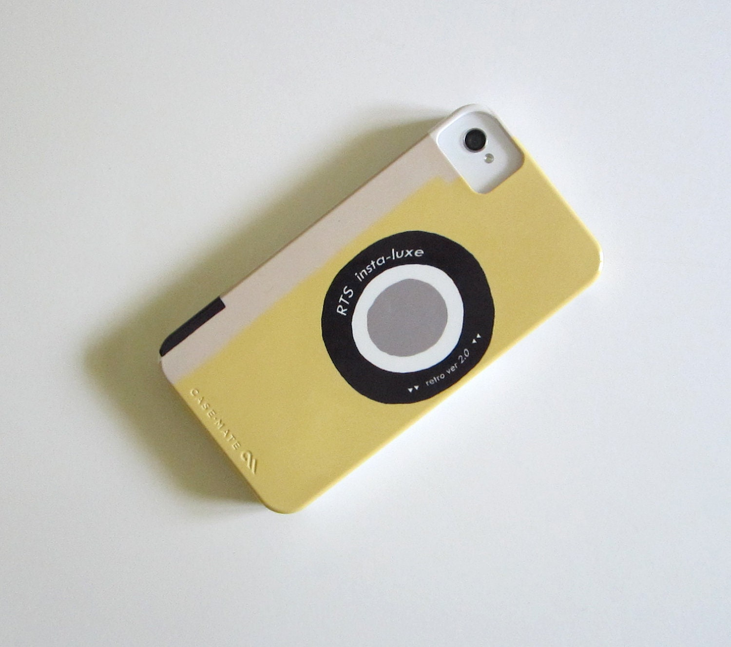 iPhone Case Camera Yellow Squash  Vintage Retro  IPhone 4/4s case Modern redtilestudio