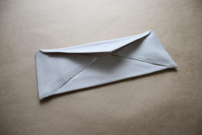 Handmade Ceramic Envelope