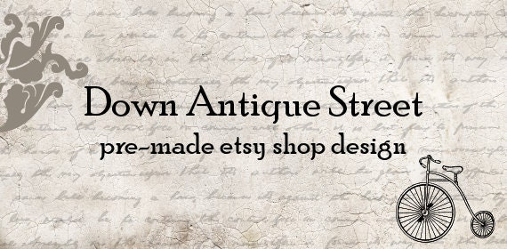 Down Antique Street: pre-made shop design