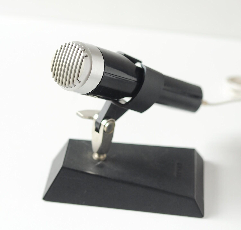 Vintage Microphone TESLA AMD 203 L, unused, Soviet time - SovietEra