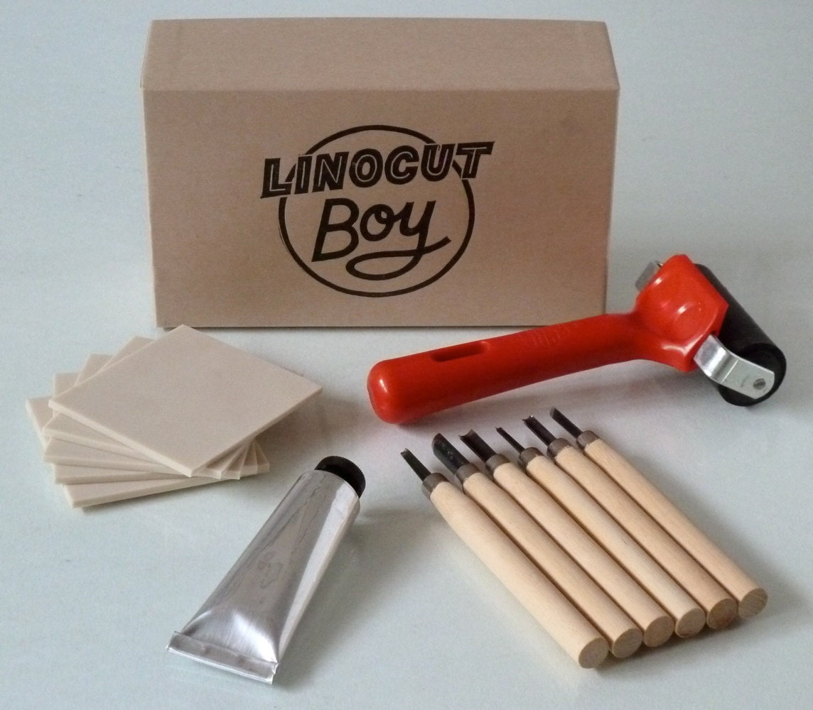 Linocut kit