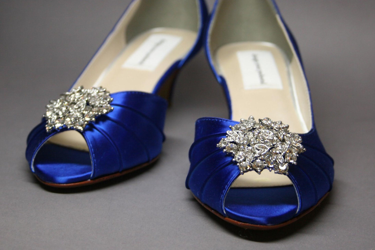 bridal style and wedding ideas perfect royal blue wedding shoes
