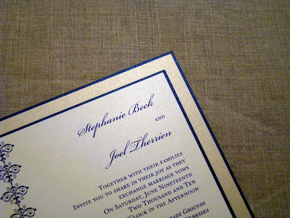 Wedding Invitation Custom
