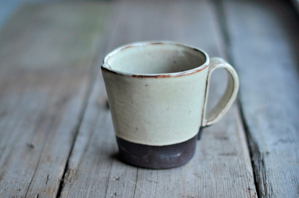Rustic Handbuilt Mugs - Available in 4 Colors - JustWork