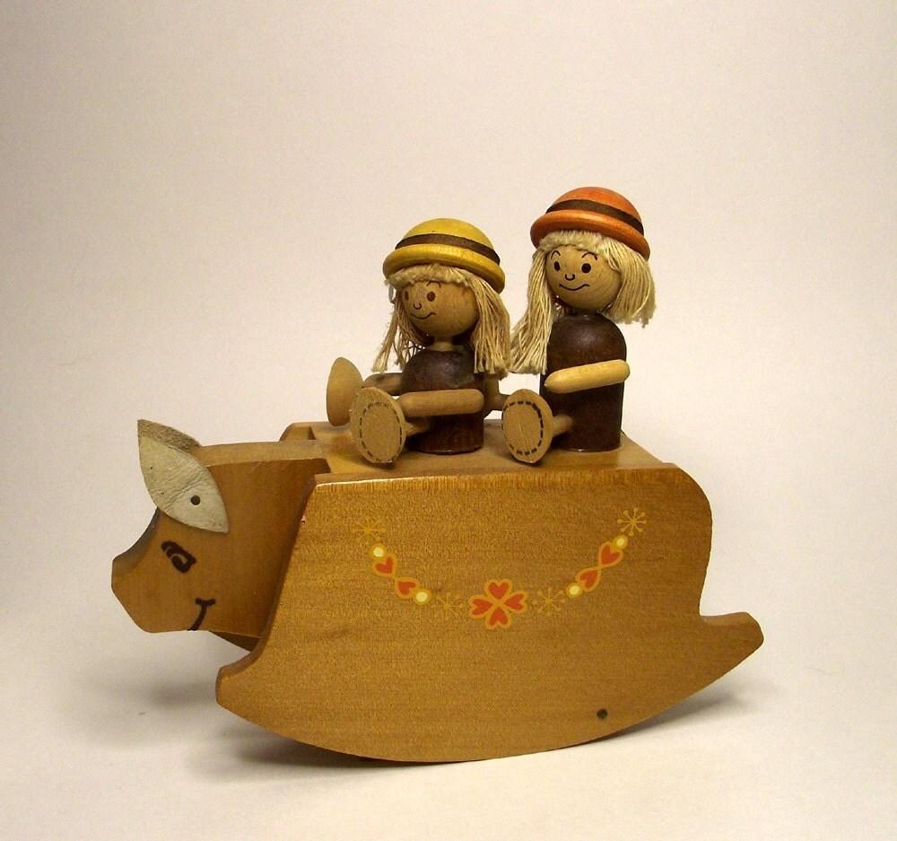 Rocking Pig Musical Toy