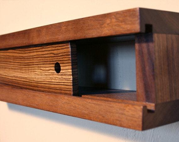 Slide Box Wall Shelving / Decor - Set of 4