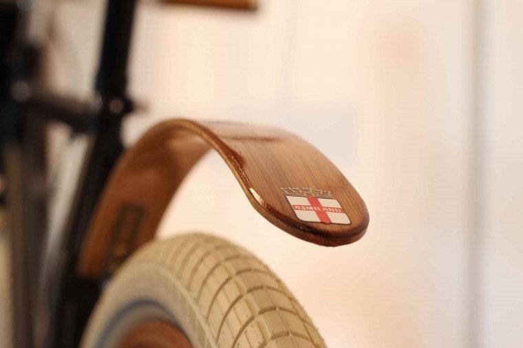Woody's Chop Chort Wood bike fender - woodysfenders