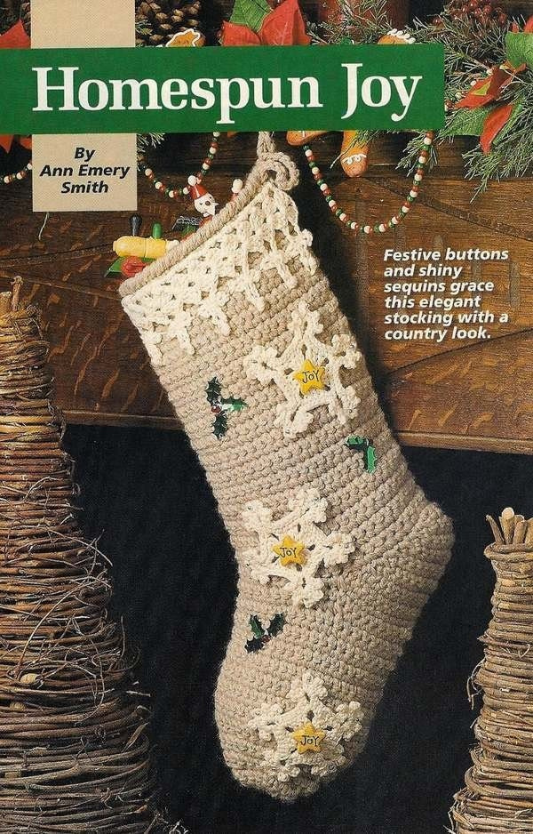 FREE Crochet Christmas Stocking Pattern - holyjeans30 on HubPages