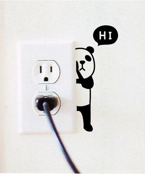 ANi Hide - Wall Decals Sticker