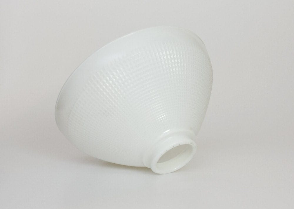 Corning Torchiere Milk Glass Floor Lamp Shade by TomLaurus on Etsy