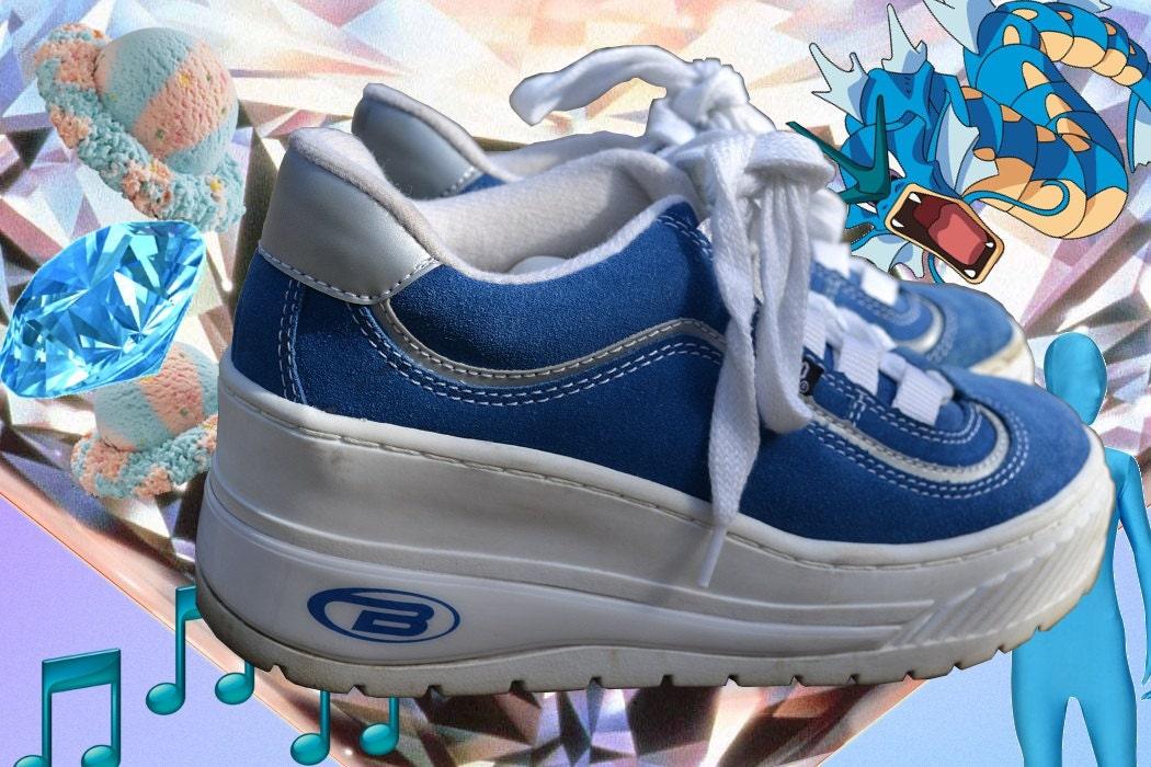 platform tennis shoes smells like spirit