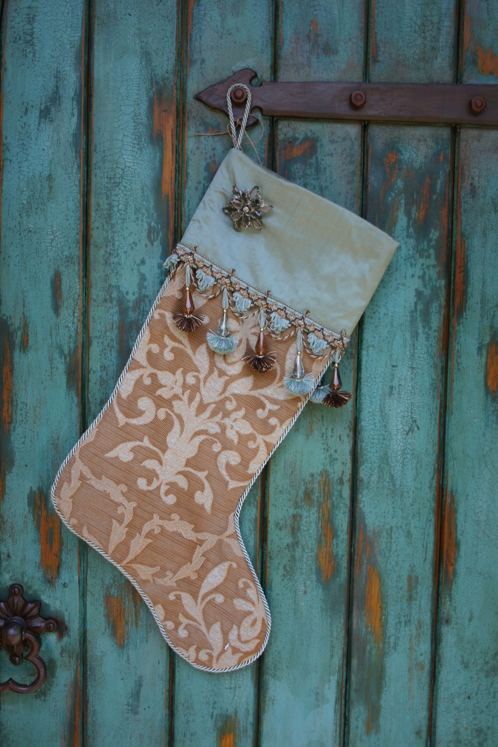 Elegant Christmas Stocking