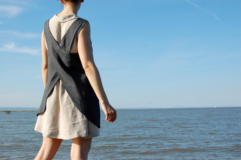 apron-dress grey