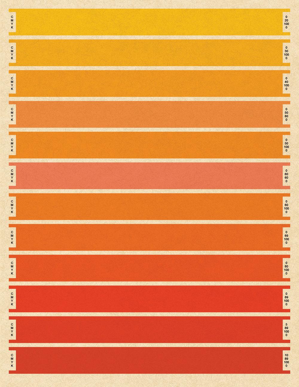 Палитра красного цвета : сколько существует основных оттенков и каковы их 93