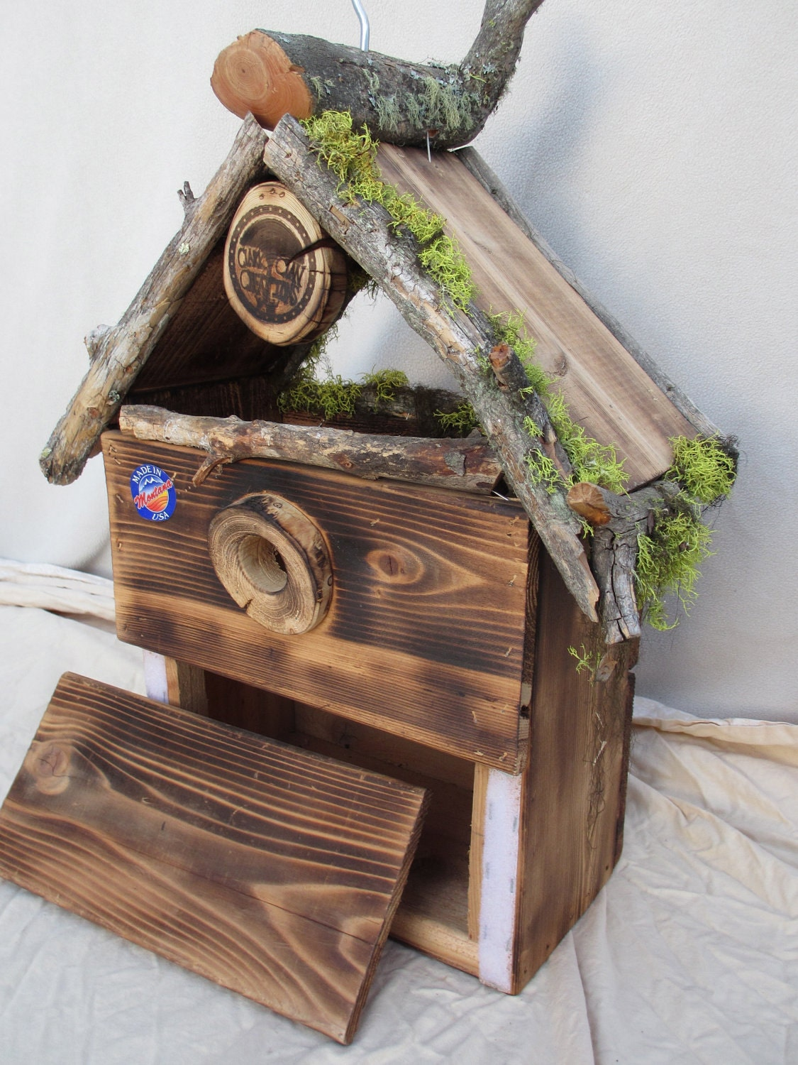 Beautiful Rustic Cedar Birdhouse