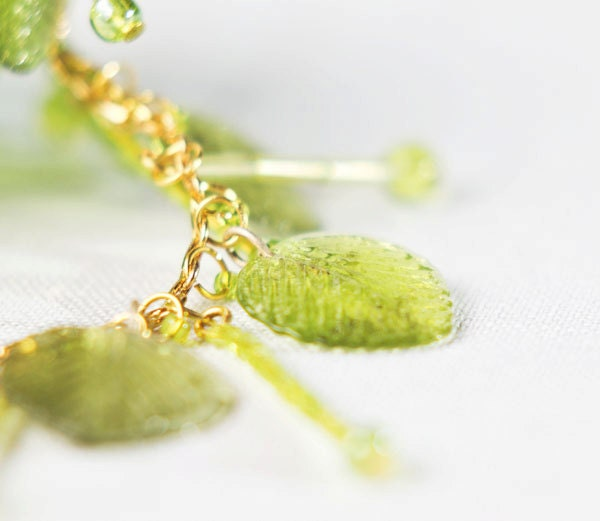 Deciduous - Nice green and gold bracelet - LuthienEf