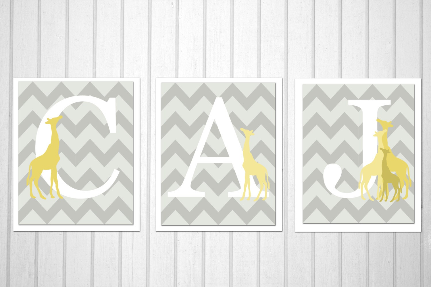 Popular items for initial wall decor on Etsy