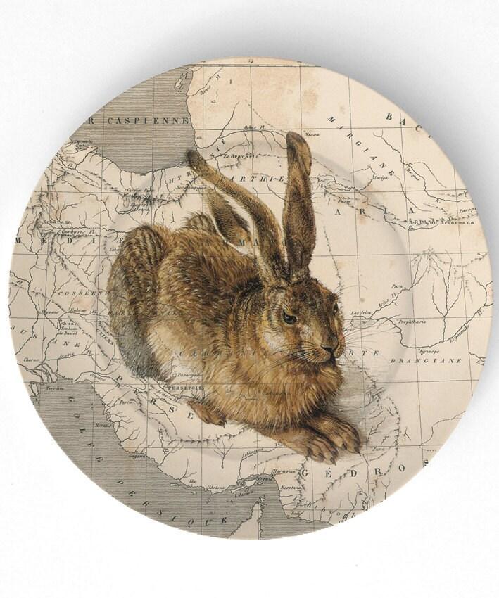 coelho de mestrado - em 10 polegadas Placa de Melamina